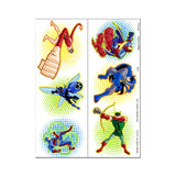 Batman Brave Bold Party Favor Tattoos