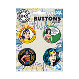 Wonder Woman Button Set