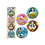 Wonder Woman Portrait Button Set