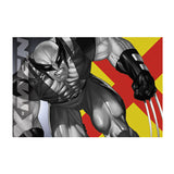 Wolverine Fight Magnet