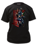 Avengers Age Of Ultron Gang Mens T-Shirt