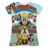 Wonder Woman #1 Cover Sublimated Juniors T-Shirt