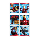 Iron Man 2 Party Favor Stickers