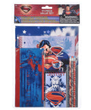 Superman Man Of Steel 11-Piece School Stationery Set