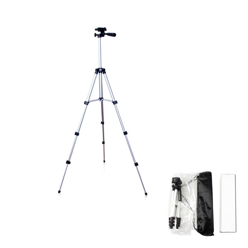 106cm Aluminum Alloy Tripod Camera Stand Broadcast Support - Lightweight and Portable Tripod with Bag - zorrlla