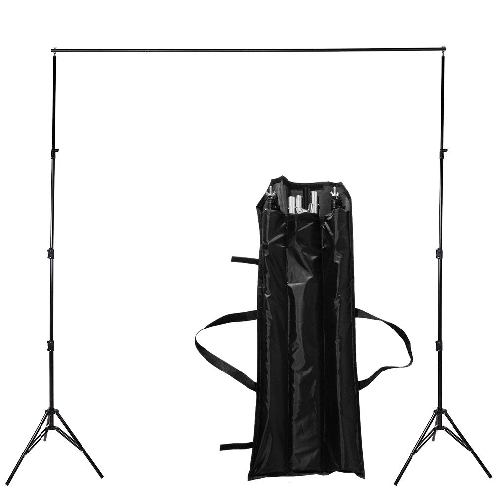 2.6 M X 3 M / 10ft 8.5 * Pro Photo Photo Backdrops Back Support System Photo Stands Video Studio + carry bag - zorrlla