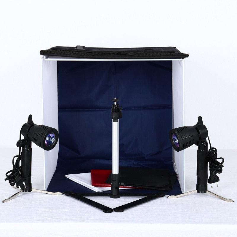4 Colour Mini Portable Photo Studio /Tent/ Lighting Kit Bag - zorrlla