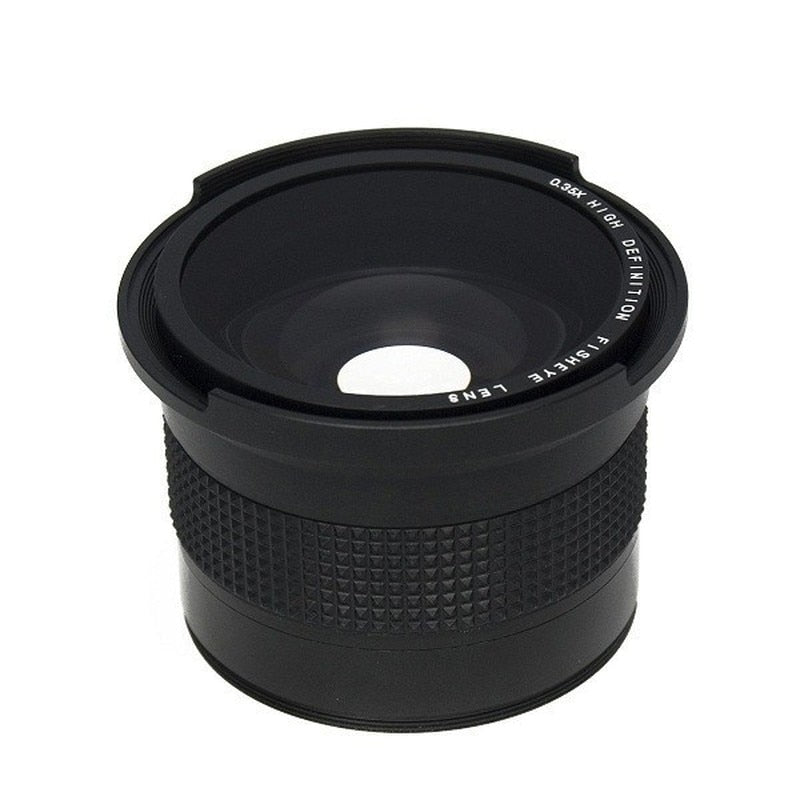 58mm 0.35x Super Fisheye Wide Angle Lens for Cameras - zorrlla