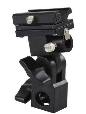 B Type Flash Swivel Light Stand Bracket - zorrlla
