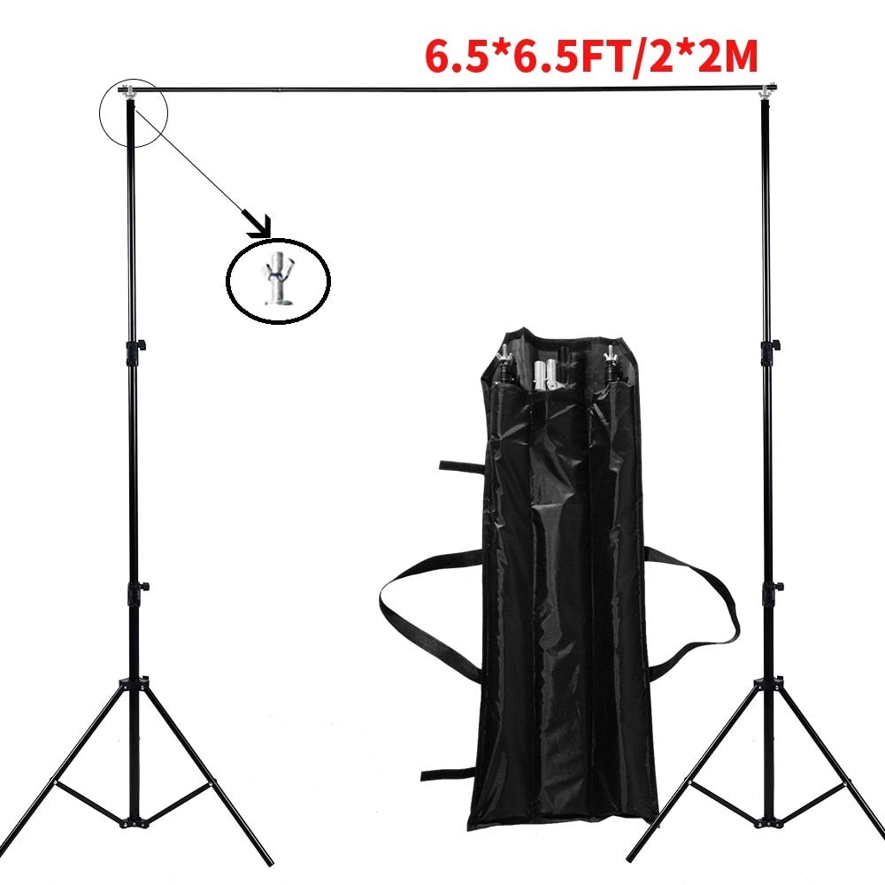 Bottom Stand Video Support Studio Photo Accessories Muslin Feet Backgrounds Adjustable Tripod Frame - zorrlla