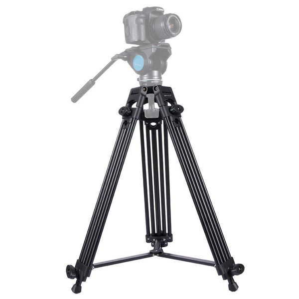 Camera Tripod Professional Universal Heavy Duty Adjustable Aluminum Alloy Tripod Legs for DSLR Digital Cameras & Camcorders - zorrlla