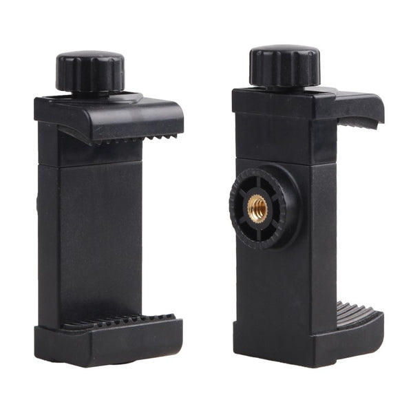 Cell Phone Stand Vertical Bracket Smartphone Clip Holder 360 Adapter Tripod Mount for iPhone Samsung Selfie - zorrlla