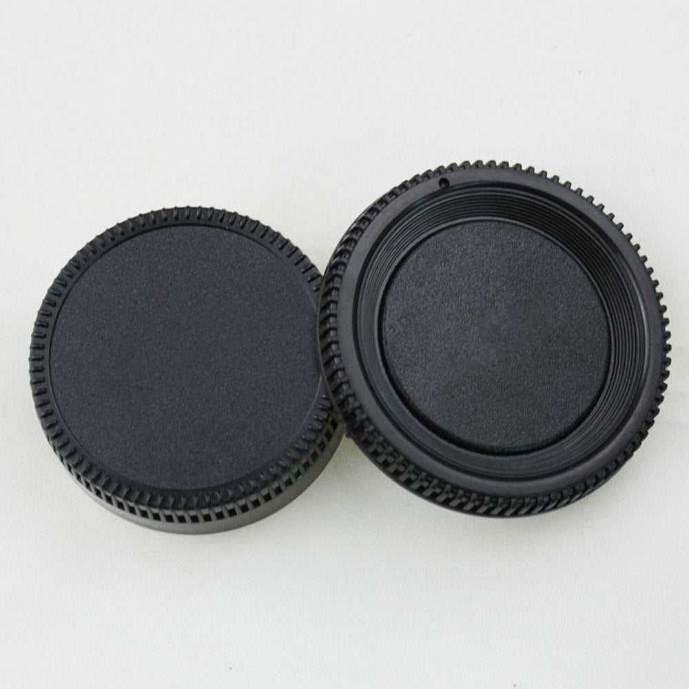 Front Camera Body Cap and Rear Lens Cap Cover for Nikon - zorrlla