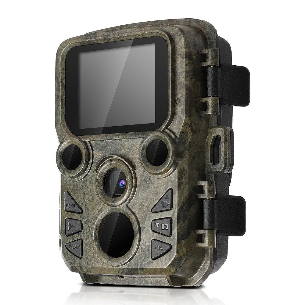 Wildlife Trail Photo Trap Mini Hunting Camera 12MP 1080P Waterproof Video Recorder Cameras for Security Farm Fast Trigger Time - zorrlla