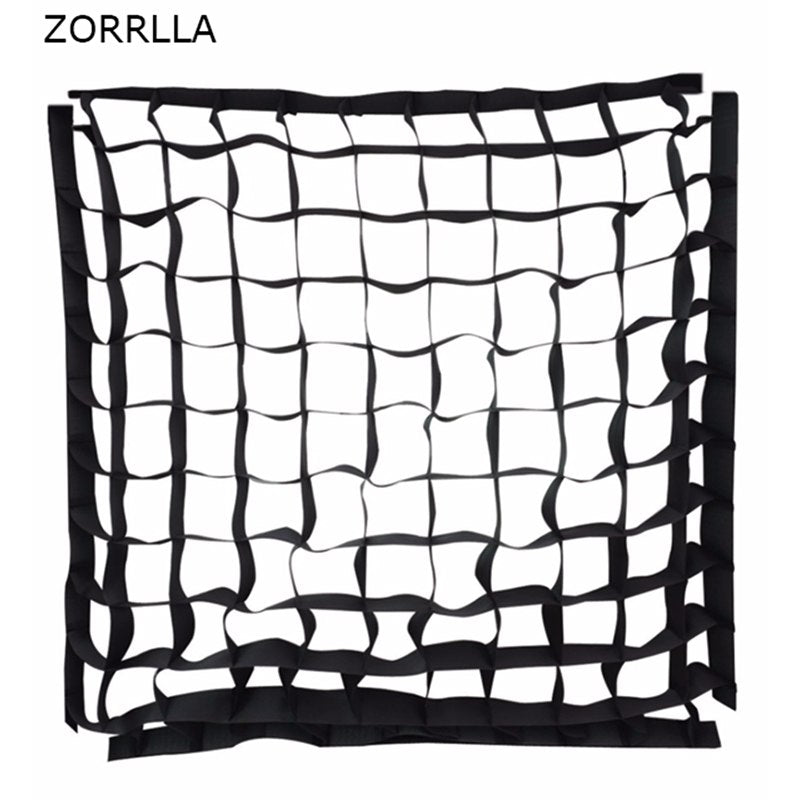 "Honeycomb Eggcrate soft Grid for 24"" 60x60cm Softbox (Only 60x60cm Grid) - zorrlla"