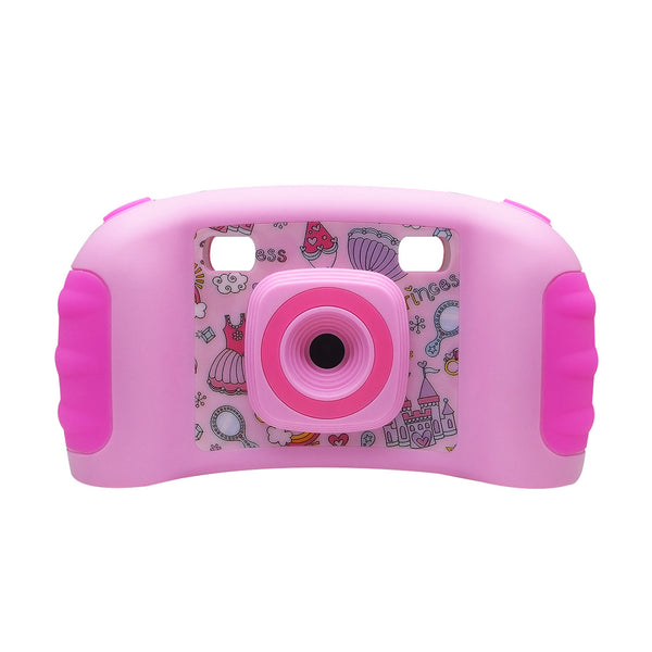 Kids Game Camera 5MP Digital Camera Video Photo Sport Camcorder DV with 1.8 Inch LCD Screen Pink - zorrlla