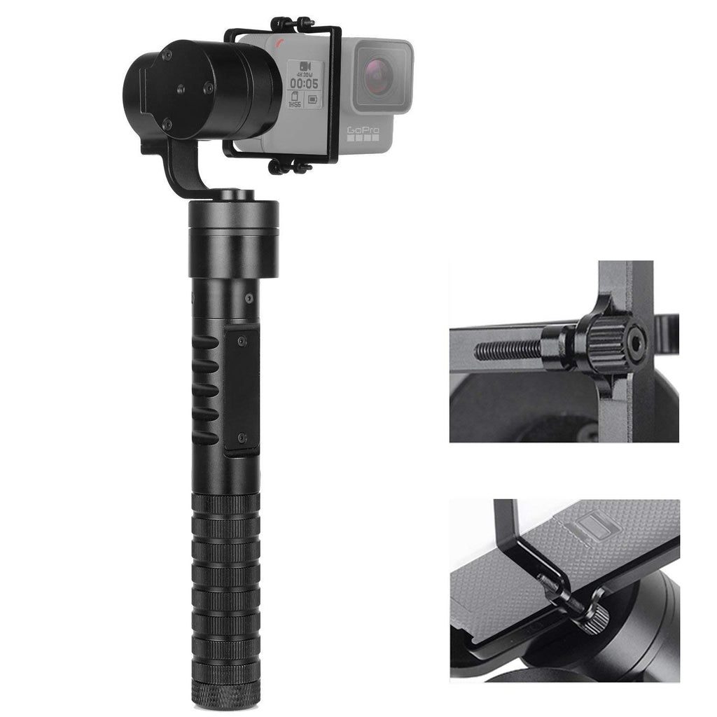 New AFI A5 Professinal Updated 3 Axis Handheld Gimbal Action Camera Stabilizer Gimbal Selfie Stick for GoPro Hero 6 5 4 3+ - zorrlla