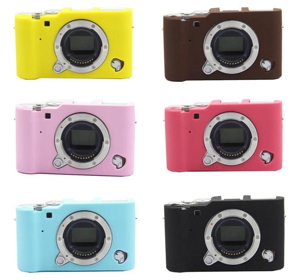 Nice Soft Camera Bag For FUJI Fujifilm XA10 XA3 XA-3 Silicone Case Rubber Camera case Protective Body Cover Skin - zorrlla