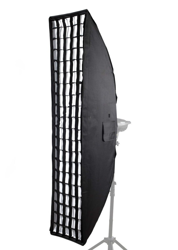 Photography Studio Professional Quality 14in x 62in Honeycomb Grid Softbox - zorrlla