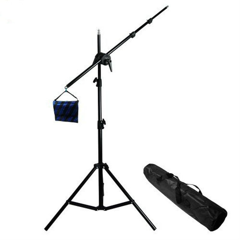 Phototo Video Studio Lighting Boom Arm with Sandbag - zorrlla