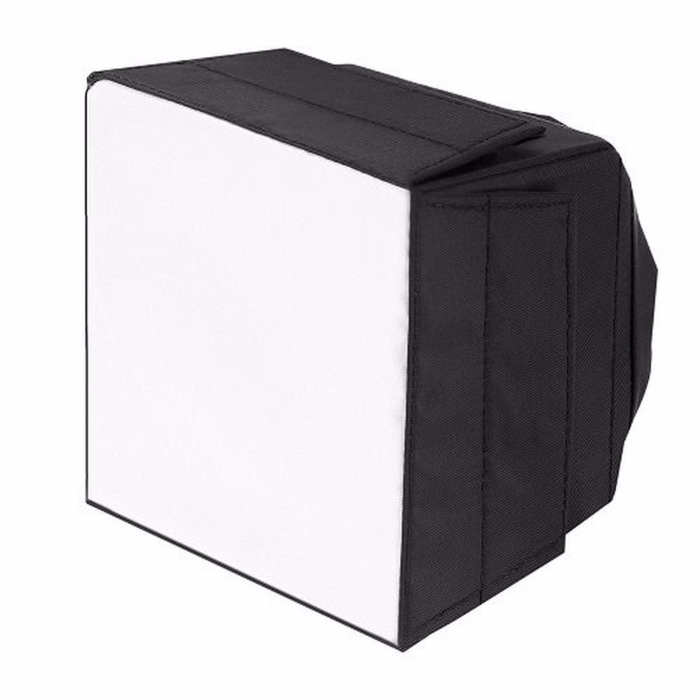 Pro Version of Pop-Up Universal Flash Diffuser for On Camera or Off Camera Flash Gun, with a Carrying Case - zorrlla