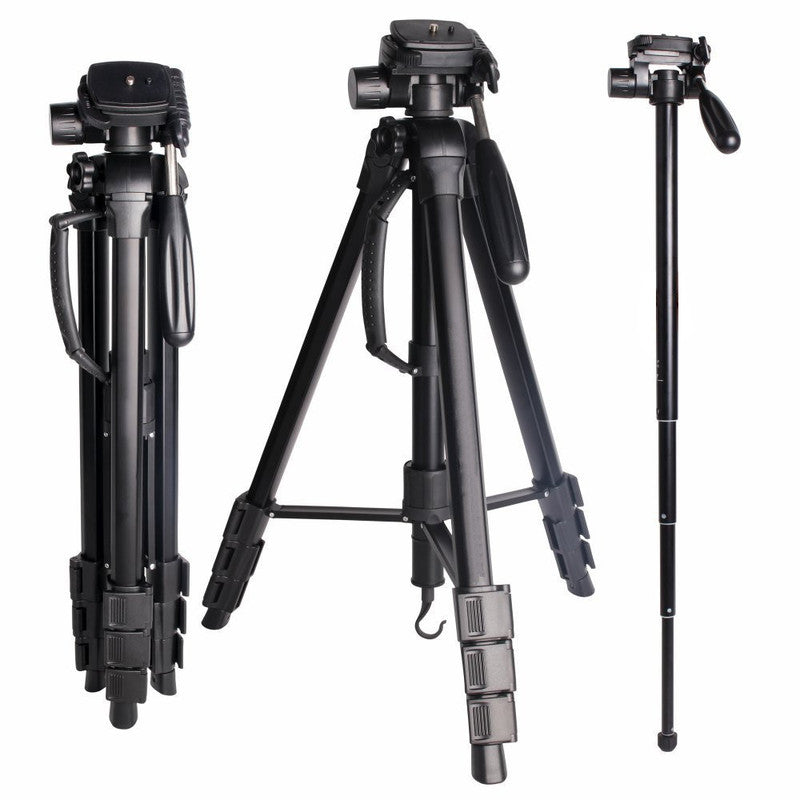 SLR Camera Tripod Camera Tripod Portable Multi-functional Removable Monopod - zorrlla