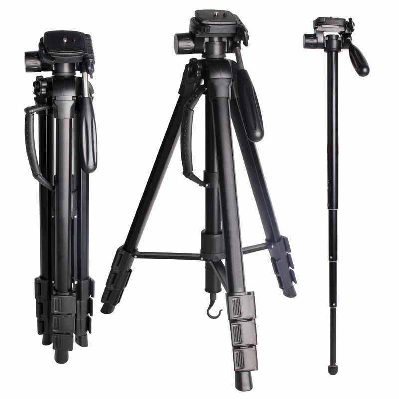 SAB264 SLR Camera Tripod Camera Tripod Portable Multi-functional Removable Monopod - zorrlla