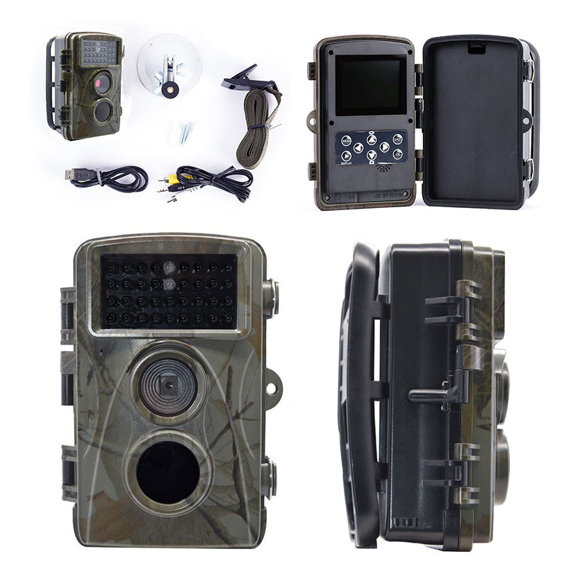 Zorrlla H9 HD 1080P Hunting Camera Outdoor Trail Camera Photo Traps 12MP Night Vision Digital Cameras Hunting Trail Camera - zorrlla