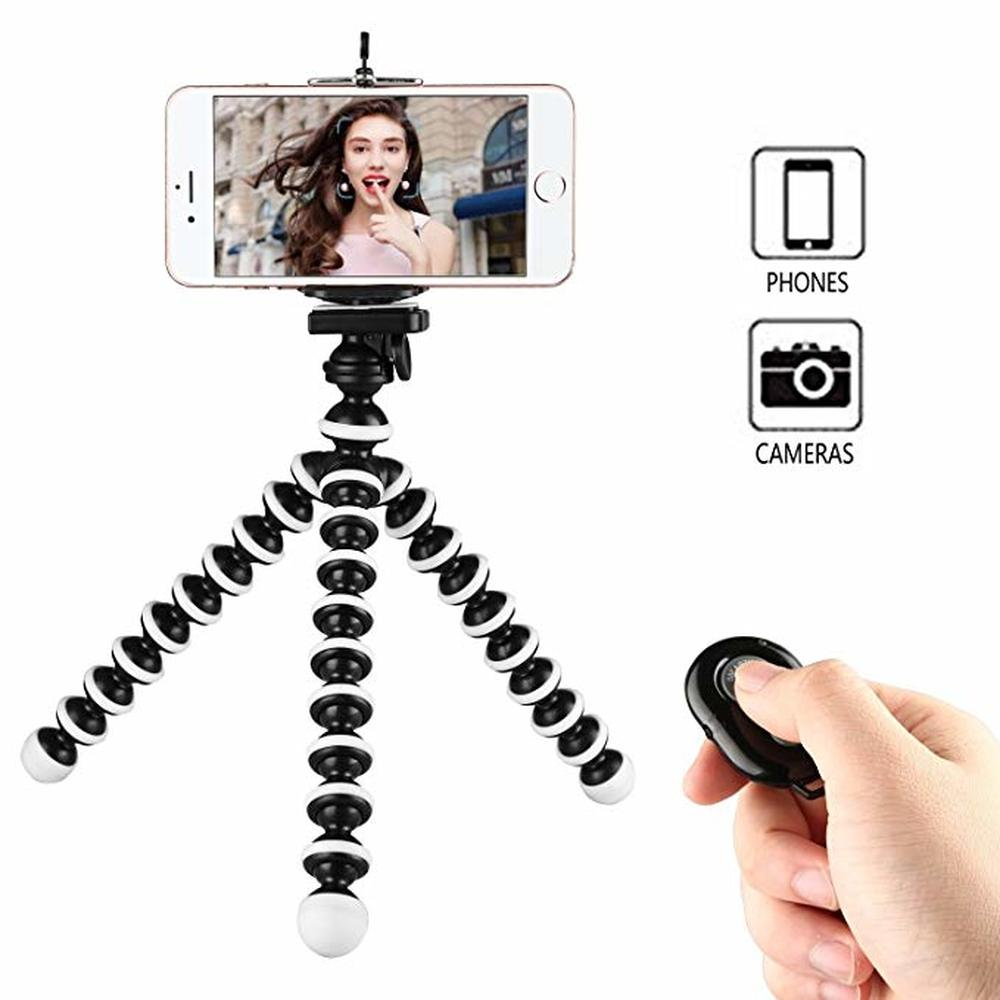 Zorrlla octopus Mini Tripod Bracket Portable Flexible Mobile Phone Holder Camera Stent Smartphone Tripods Foldable Desktop Stand - zorrlla