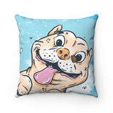 The Bubbins Spun Polyester Square Pillow