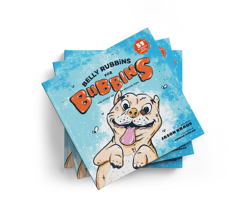 The Story Of A Rescue Dog: Hardcover