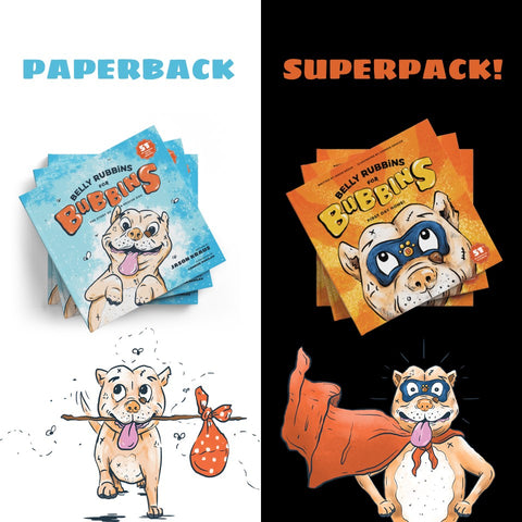 Bubbins Paperback Superpack!