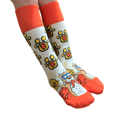 Custom Super Bubbins Socks (Youth)