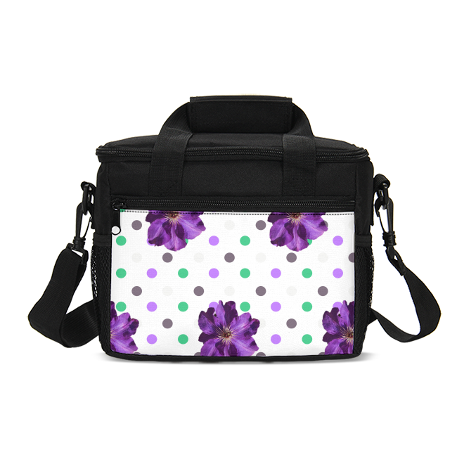 Purple INSULATED LUNCH BAG