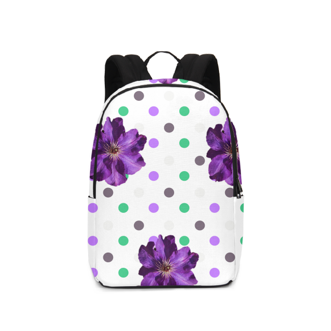 Purple LARGE BACKPACK