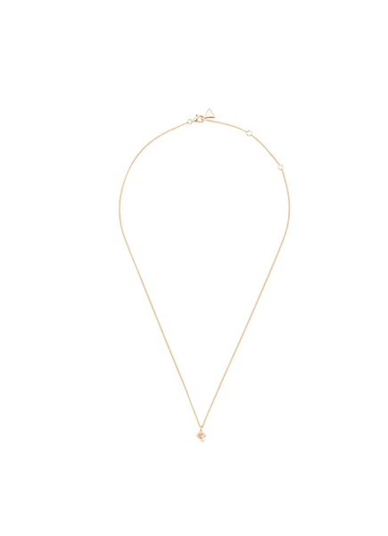 Coup de Coeur London Gold mini vortex pendant necklace