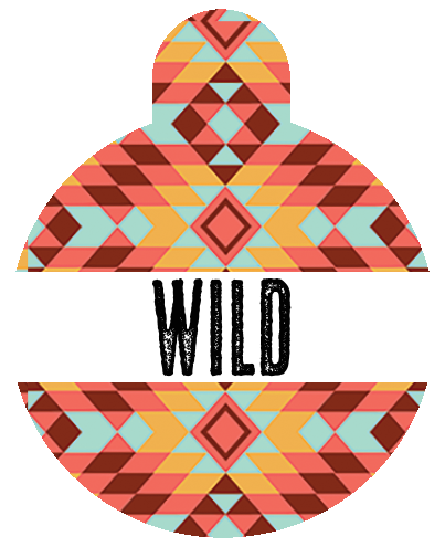 Wild Tribal Pet Tag