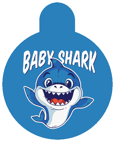 Baby Shark Pet Tag