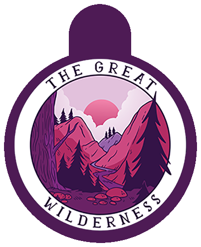 Pink Wilderness Pet Tag