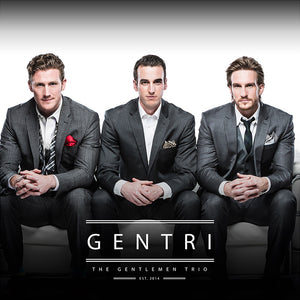 GENTRI - The Gentlemen Trio CD