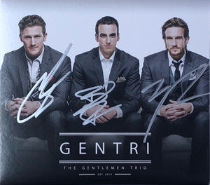 GENTRI - The Gentlemen Trio CD (Autographed Limited Edition)