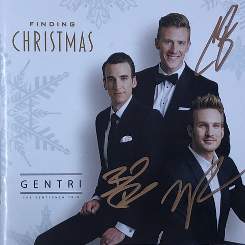 Finding Christmas CD - Autographed Limited Edition
