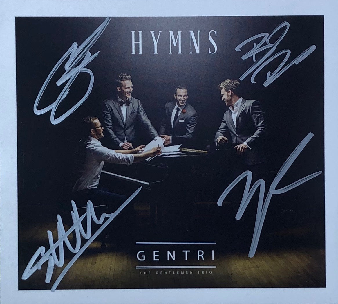 Hymns CD - Autographed Limited Edition