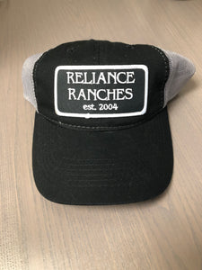 Black Reliance Ranches Cap