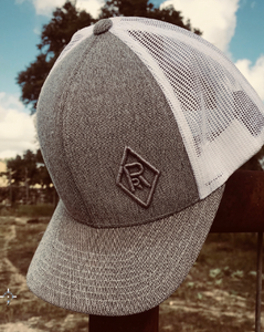 Grey Reliance Ranches Cap