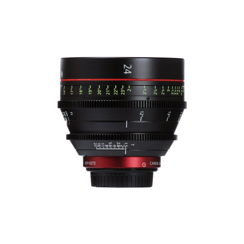Canon CN-E 24mm T1.5 L F Cinema Prime Lens (EF Mount)