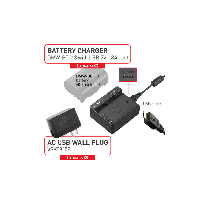 Panasonic DMW-BTC13 Battery Charger