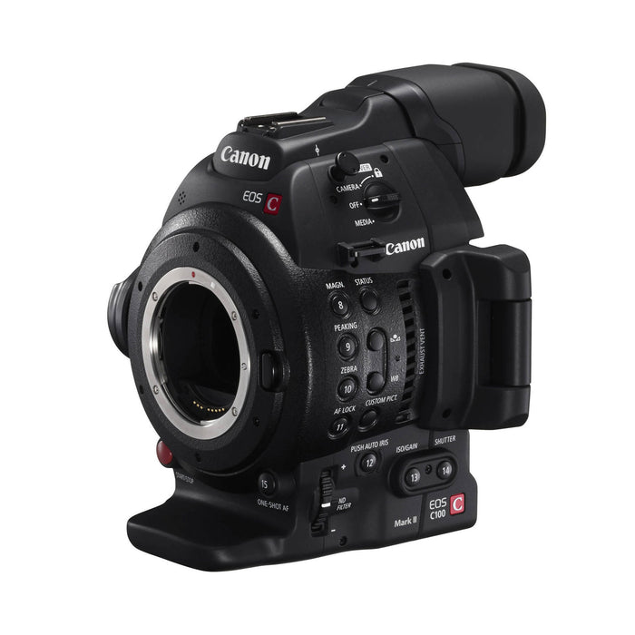 Canon EOS C100 Mark II Cinema EOS Camera with Dual Pixel CMOS AF