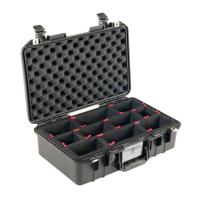 Pelican 1485AirTP Compact Hand-Carry Case with TrekPak Insert (Black)
