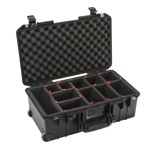 Pelican 1535AirTP Wheeled Carry-On Air Case with TrekPak Insert (Black)